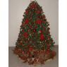 Árbol de Navidad de Libia América Ruiz (El Llanito / Edo. Miranda / Venezuela)