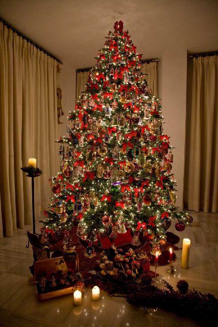 Rbol de navidad de jos luis tendero barreiro jerez espa a - Fotos arboles navidad decorados ...