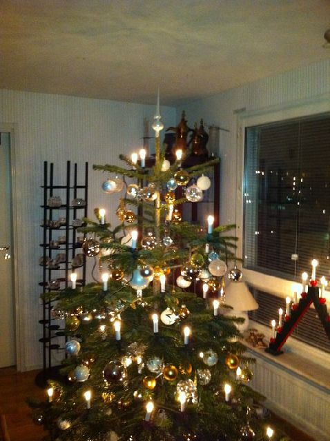 Stefan's Christmas tree from Stockholm, Sweden