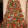 Veronica Aguilar's Christmas tree from Scottsdale, Arizona, USA