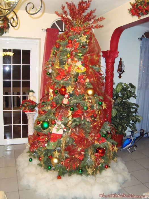Puerto rican christmas tree images for Acanthus decoration puerto rico