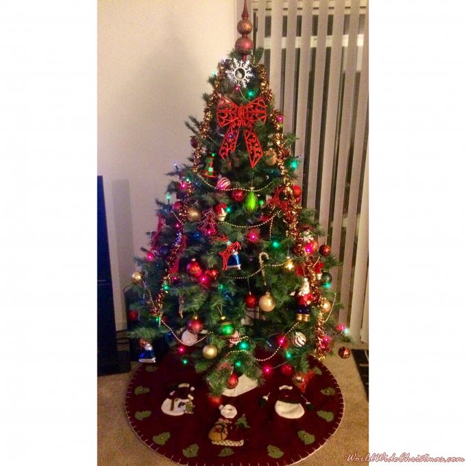 Christmas tree 2014 (Raleigh, NC, USA)