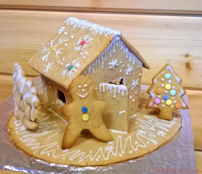 Lijana Lauciute- my Gingerbread Christmas Tree (Gibraltar)