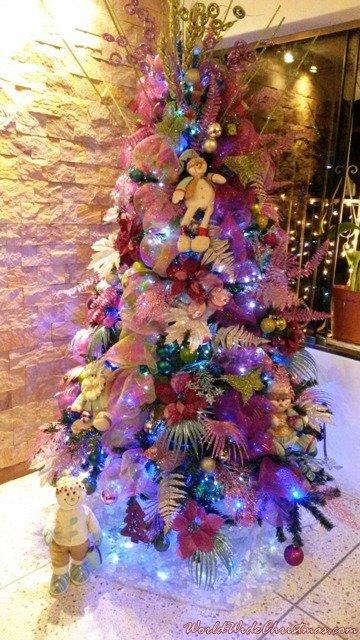 Familia Ramírez Garces Navidad multicolor  (Caracas, Venezuela )