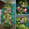 Árbol de Navidad de Familia Thourey Arbolito Moderno (Yaracuy - Venezuela )