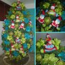 Familia Thourey Arbolito Moderno's Christmas tree from Yaracuy - Venezuela