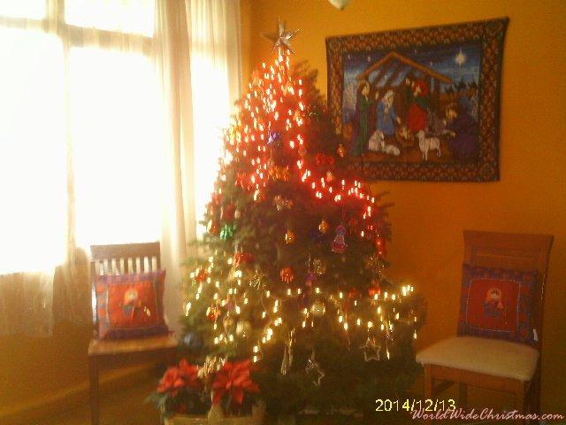 Grace Barbarina árbol navideño mexicano (México D.F.)