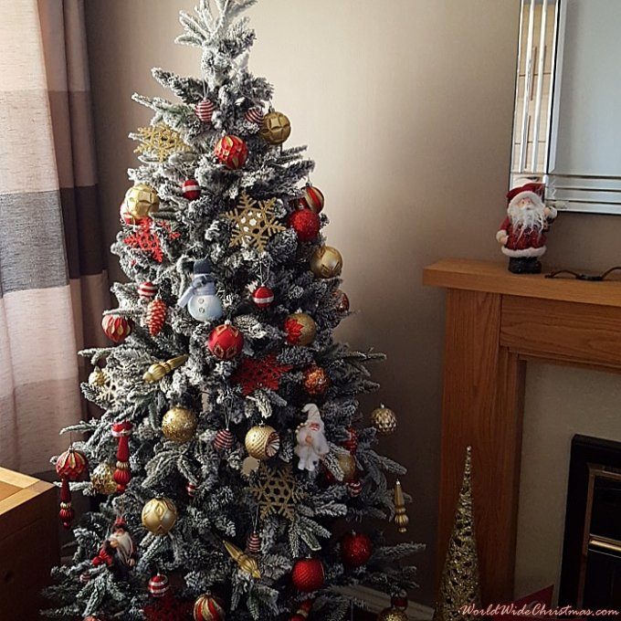 xmas tree  (newcastle england)