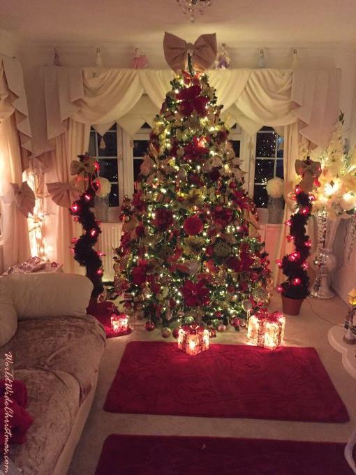 Weihnachtsbaum England.Weihnachtsbaum Von Kate London England