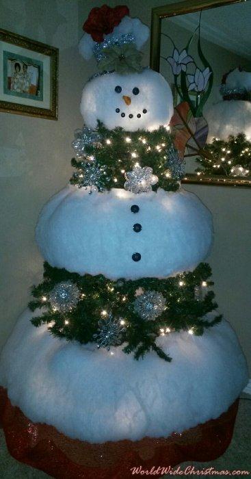 Let It Snow Snowman  (Lawton, OK)