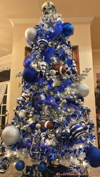 dallas cowboys christmas tree harlingen tx usa