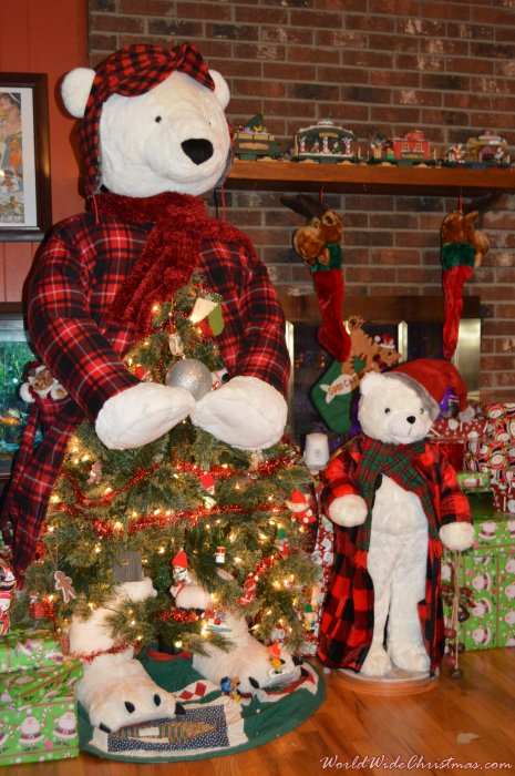 Have A Bear-y Merry Christmas (Cedar Mountain, NC, USA)