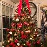 Maria del Pilar Garcia's Christmas tree from Alcala de Henares, Madrid, España