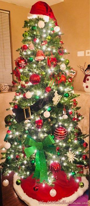 Some random Christmas trees of 2017 edition