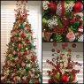 Antoinette Boston's Christmas tree from Frisco, Texas