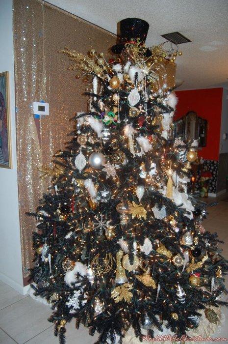 Black Great Gatsby Real Tree (Boca Raton, FL)