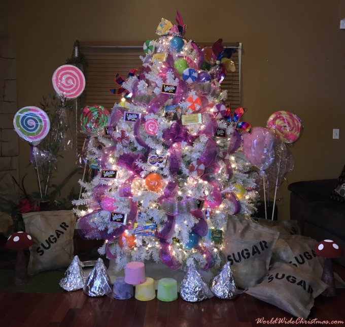 Willy wonka Christmas tree  (Toms River New Jersey, USA)