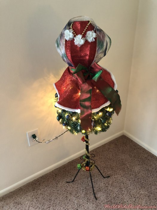 Lady Christmas Tree (Dayton, OH, USA)