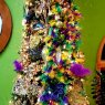 Venus Mardi Gras themed christmas tree's Christmas tree from Omaha, NE